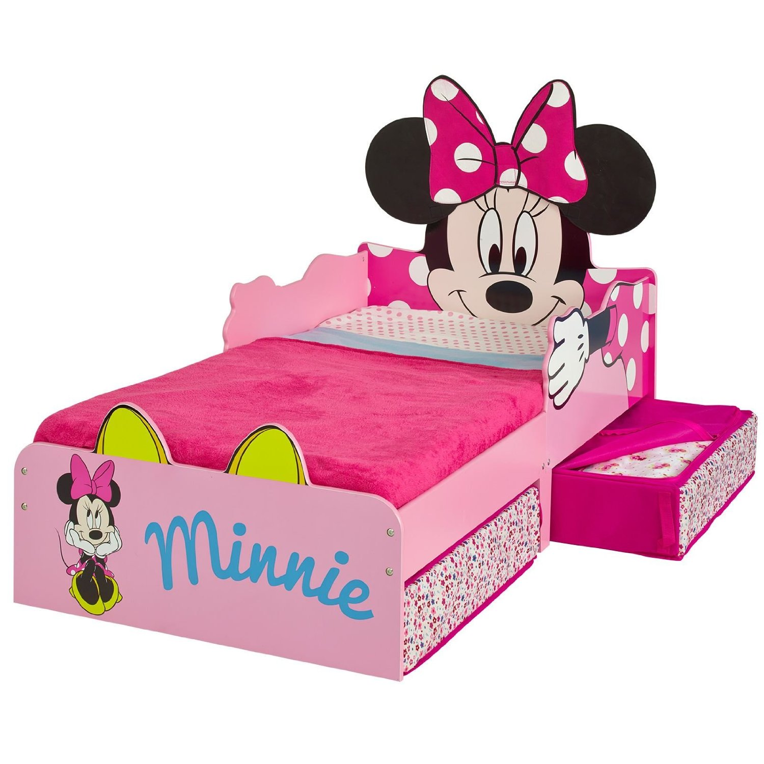 Cama minnie mouse cama minnie ni as camas ni as for Camas nidos para ninas