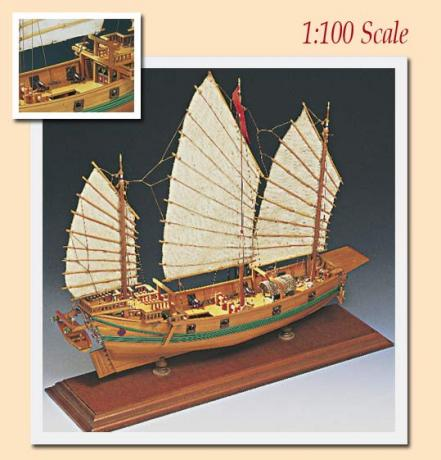 Kit maqueta barco pirata junco chino indalchess tienda de for Amati muebles