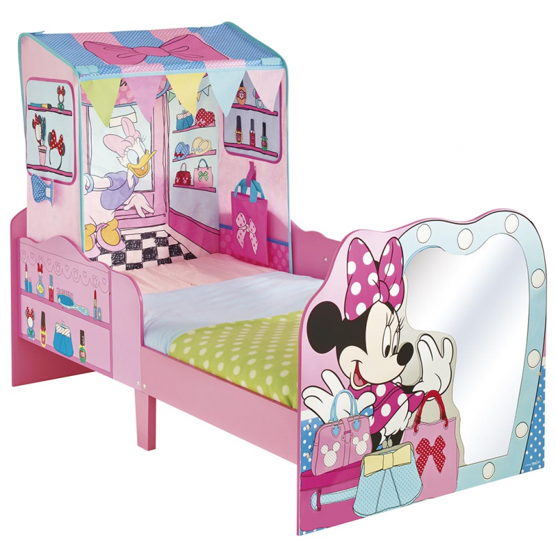 cama minnie madera 452miz sin colch n. Black Bedroom Furniture Sets. Home Design Ideas