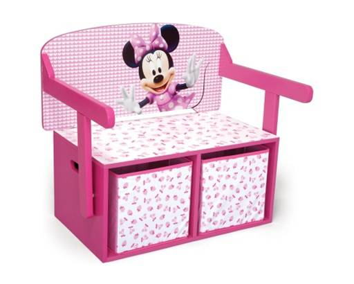Escritorio minnie banco minnie escritorios infantiles for Muebles disney