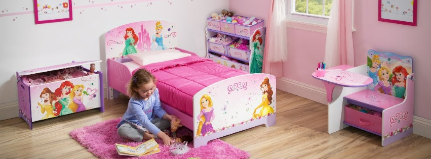 Habitaci n princesas habps2 bb87007ps tb84480 for Cuartos de princesas