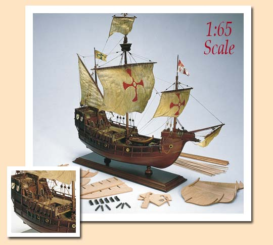 Amati 1409 kit maqueta santa mar a indalchess tienda de for Amati muebles